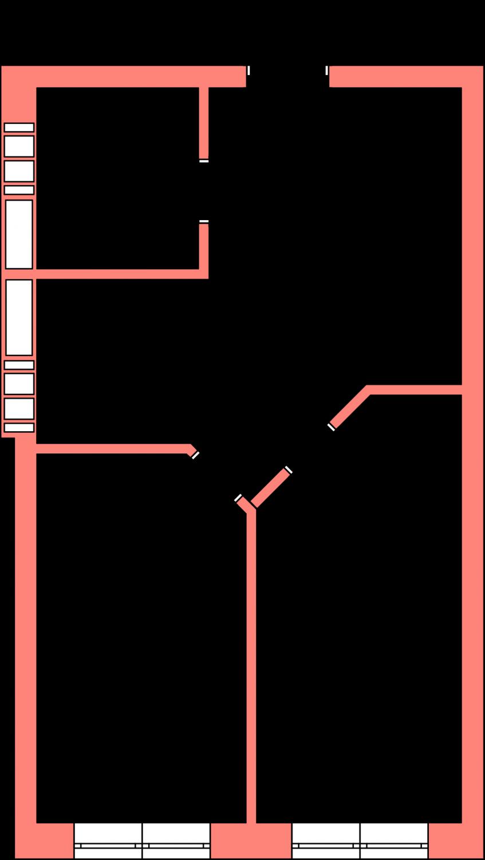 Смарт квартира на 2 комнаты М